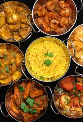 Indian Cusine, Curry & Rice