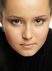 Young pretty attractive woman portrait