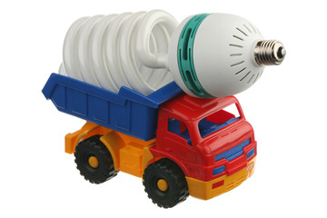 Lightbulb in the truck
