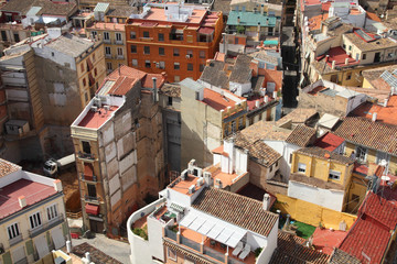 Valencia - aerial view