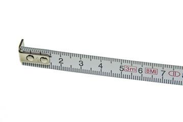 Maßband mit Zentimetern