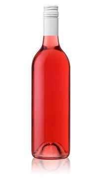Rosé bottle of wine