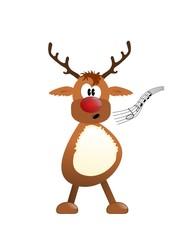 "Rudolph singt "" O Du fröhliche"""