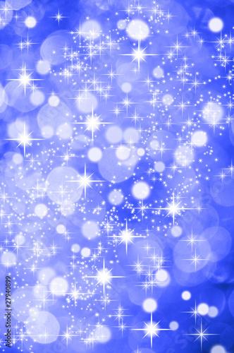 Weihnachtlicher hintergrund blau glitzer sterne for Weihnachtlicher hintergrund