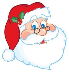 Classic Santa Claus Head