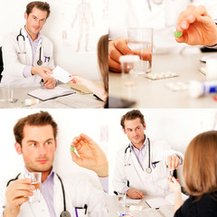 Medizin Collage