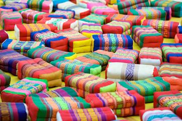Prayer Cushions Thai Buddhist Temple