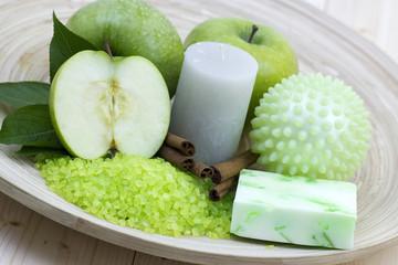 aromatic apple bath