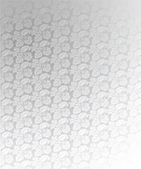 Luxury Light Silver Ornate Background Illustration