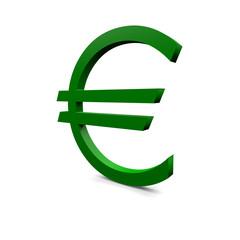 Euro im grün