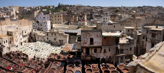Marocco - Concerie tradizionali di Fes