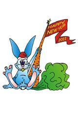 christmas rabbit  2011