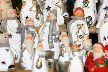 Schneemann  Weihnachtsengel