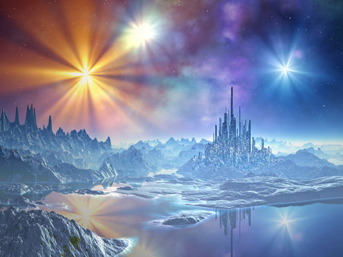 Approach to the Ice Kingdom