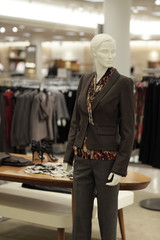 Businesswoman mannequin