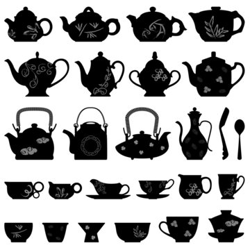 Tea Teapot Cup Chinese Japanese Asian Oriental