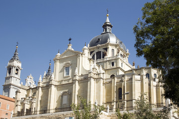 Cathedral of Almudena in Madrid - Spain