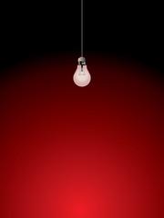 Light bulb interior vector