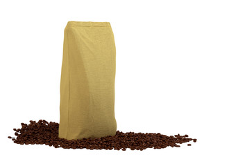 Coffee Package on beans
