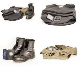 Ausrüstung der Polizei Collage