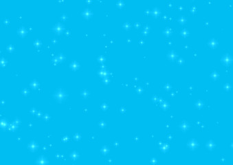 Abstraction blue background