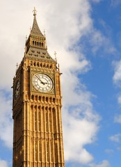 The most well-known ID of London - Big Ben.