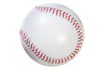 Baseball isolated clipping path
