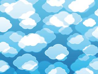 Photo sur Aluminium Ciel Beautiful clouds background