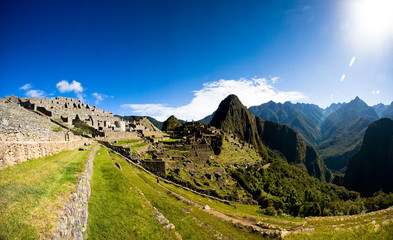 Terrace of Machu Picchu