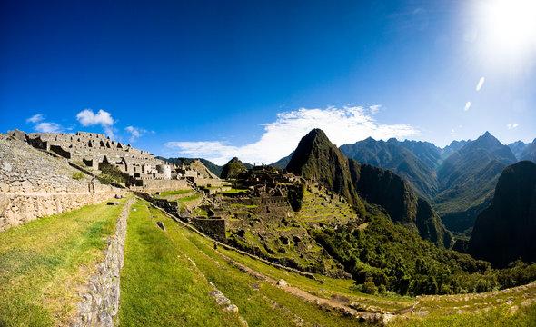 Terrace of Machu Picchu
