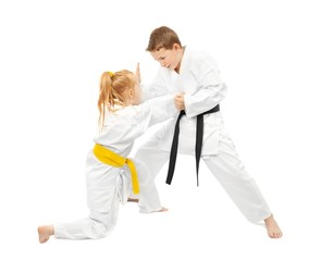 Martial arts sparring