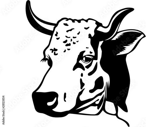Vache fichier vectoriel libre de droits sur la banque d 39 images image 28123854 - Vache dessin facile ...