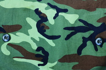 Texture of soldier cloth background.