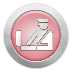 "Light Colored Icon (Red) ""Customs Symbol"""