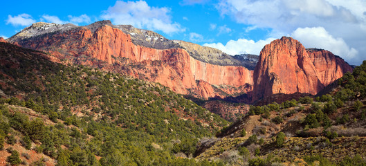 Kolob Finger Canyons in Zion