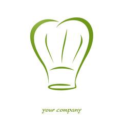 logo entreprise, toque chef cuisinier