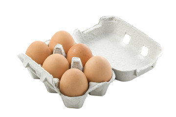 Eggs in the box