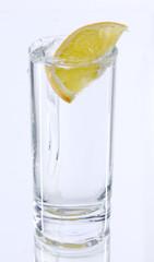 Drinks and orange