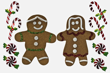 Gingerbread and Christmas Candy