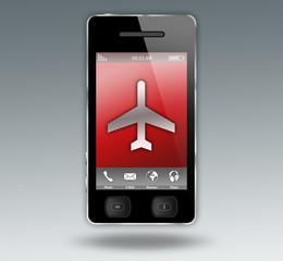 "Smartphone ""Airline Travel / Flight Ticket Booking"""