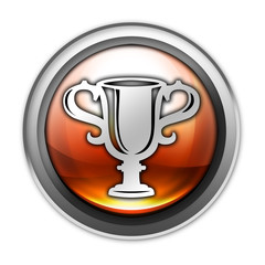 "Glossy Orb Button ""Award Cup"""