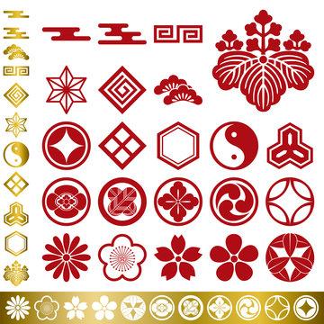 Japanese Elements Set