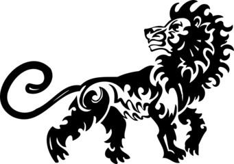 Leo.Tribal Animals.