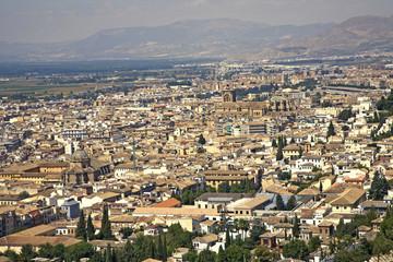 Citta di Granada, Andalusia-Spagna