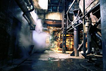 Foto auf Acrylglas Alte verlassene Gebäude Old abandoned factory