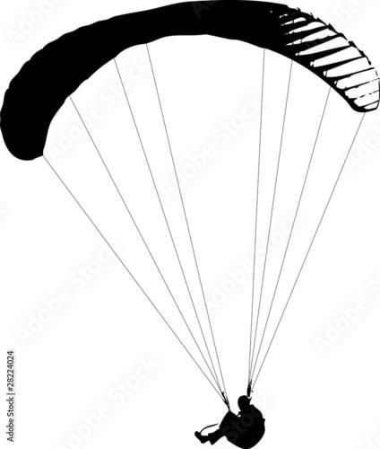 Paragliding imagens e vetores de stock royalty free no - Parapente dessin ...