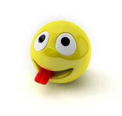 Frecher Smiley