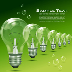 recycle  electric bulbs