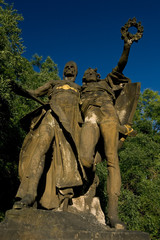 Historical statues