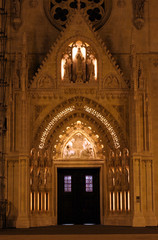 Portal of the Zagreb cathedral